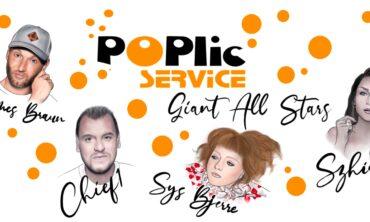 25-års Jubilæumskoncert: POPlic Service Giant All Stars