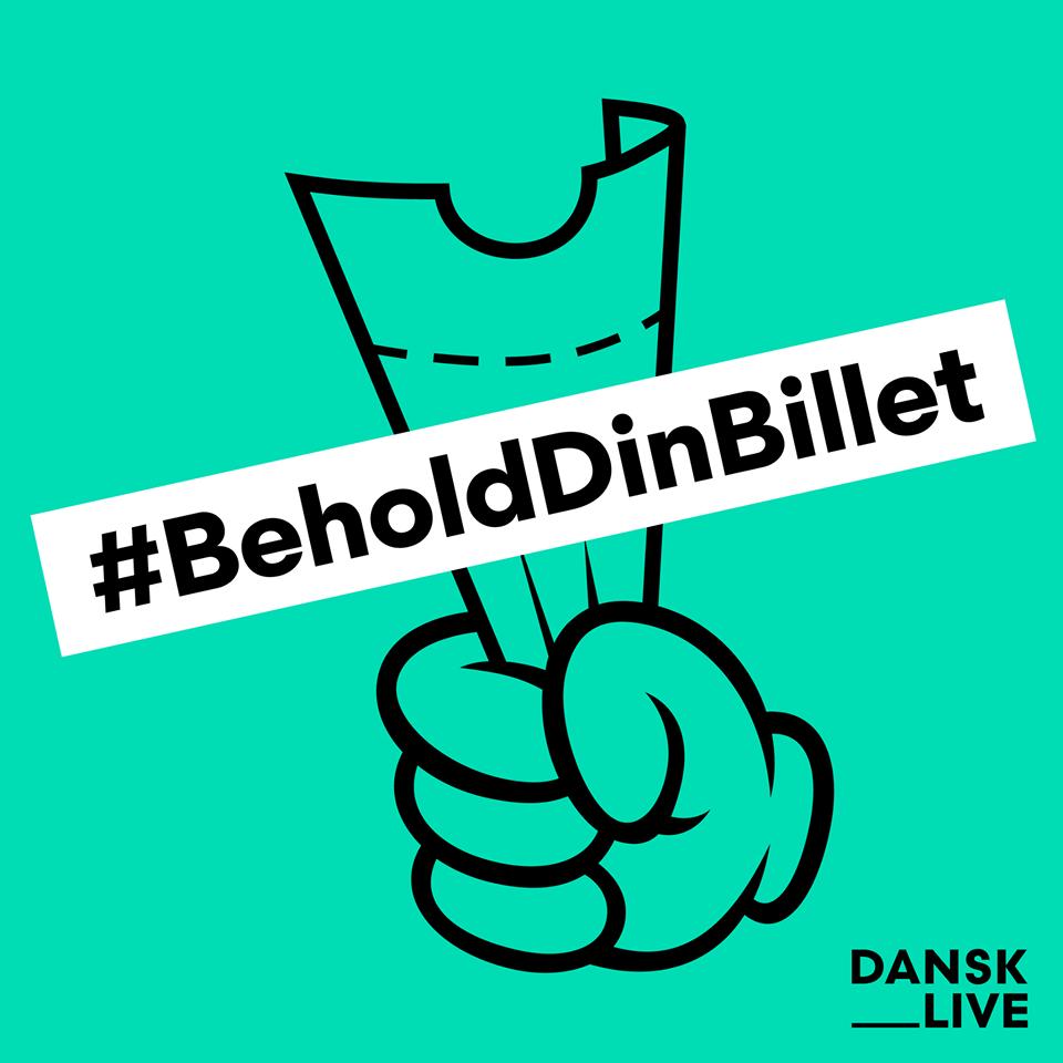 #BeholdDinBillet