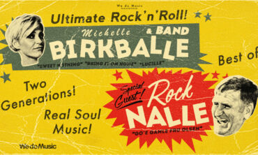 Michelle Birkballe & Band. Special Guest: Rock Nalle